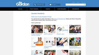 Gordon Online Student Portal