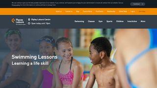 Ripley Leisure Centre Swimming Portal