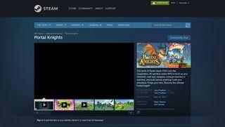 Portal Knights Steam