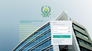 Navttc Institute Portal