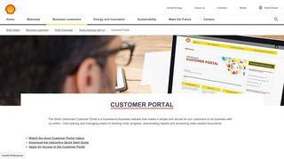 Shell Portal Login
