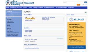 Alliant Portal