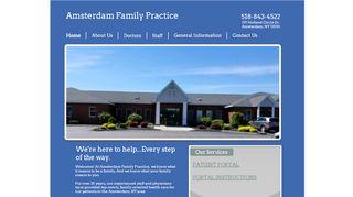 Amsterdam Family Practice Portal