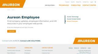 Aureon Employee Portal