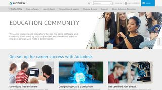 Autodesk Student Portal