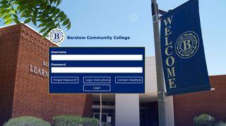 Barstow Community College Portal