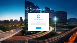 Easy Solutions Client Portal