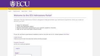 Ecu Portal Account