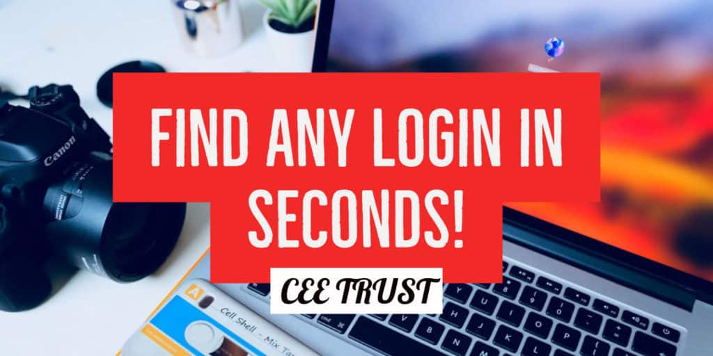 Find Login Portal CEE Trust