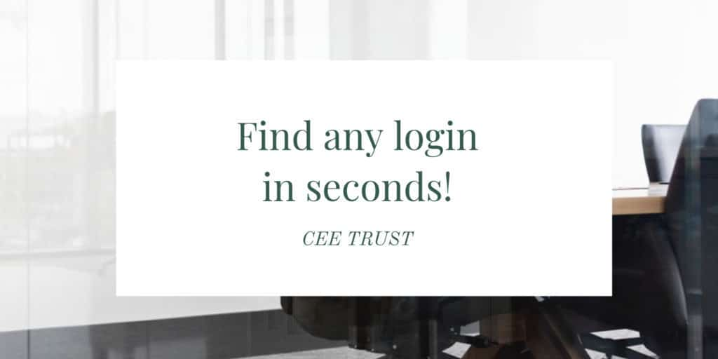 Find Any Login