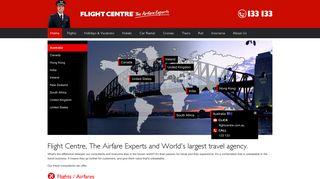Flightcentre Portal Signup
