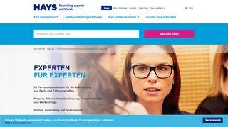 Hays Online Portal