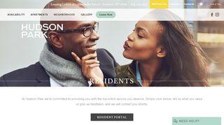 Hudson Park Resident Portal