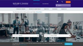 Kaplan It Training Portal