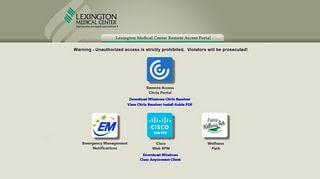 Lexmed Employee Portal