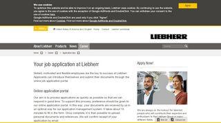 Liebherr Job Portal