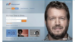 Manpower Self Service Portal