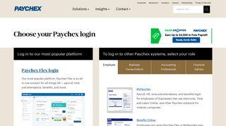 My Paychex Portal Login