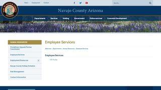 Navajo County Employee Portal