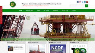 Ncdmb Recruitment Portal