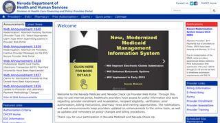 Nevada Medicaid Login Portal