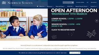 Norwich School Parent Portal