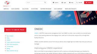 Onedc Portal