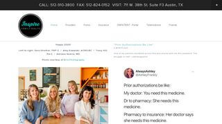 Patient Portal Inspire Family