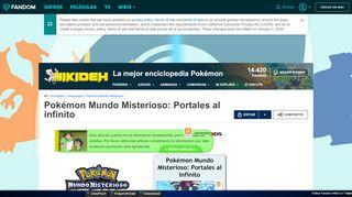 Pokemon Portales Al Infinito