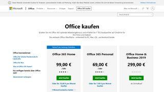 Portal Office Laufzeit