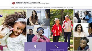 Rose City Urgent Care Patient Portal