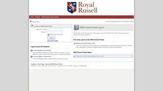 Royal Russell School Parent Portal