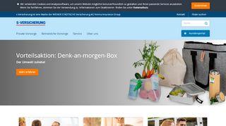 S Versicherung Portal