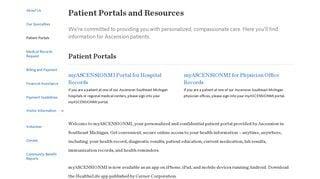 Saint John Providence Patient Portal