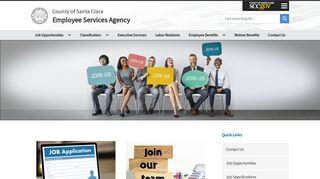 Santa Clara County Employee Portal