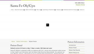 Santa Fe Ob Gyn Patient Portal