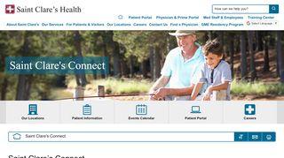St Clare's Patient Portal