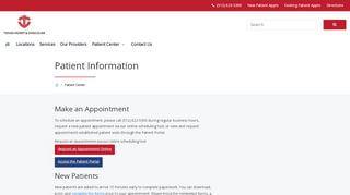 Texas Heart And Vascular Patient Portal