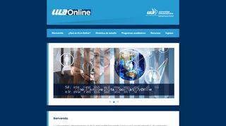 Ula Online Portal
