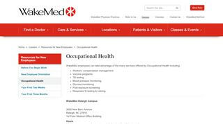 Wakemed Occupational Health Portal
