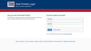 Web Portal Login
