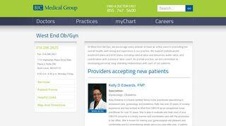 West End Ob Gyn Patient Portal