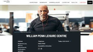 William Penn Swimming Portal