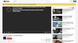 Youtube Portal 2 Testchamber 02