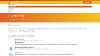Zufall Patient Portal