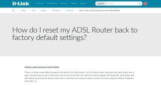 192.168.1.1 Tp Link Portal Reset