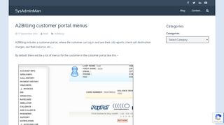 A2billing Customer Portal