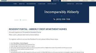 Abberly Crest Resident Portal