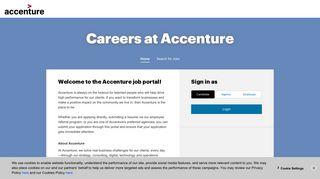 Accenture India Job Portal