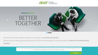 Acer Dealer Portal